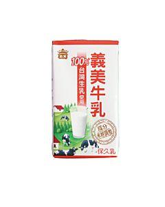 [義美] 100%台灣製常溫牛乳 (125ml/罐)