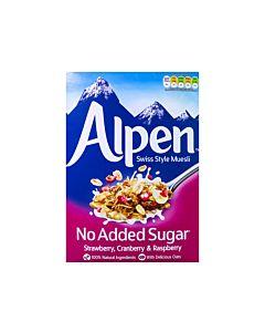 [Alpen歐寶] 無加糖綜合野莓營養麥片 (560g/盒)