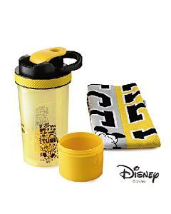 [Disney] Mickey Mouse繽紛塗鴉搖搖杯(850ml)(附運動冷感吸汗毛巾乙條)