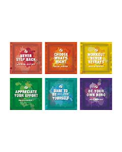 [Daily Boost蛋白粉] 無添加濃縮乳清蛋白小包裝(MSG分裝)-彩虹6入組