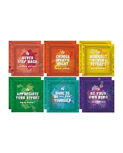 [Daily Boost蛋白粉] 無添加濃縮乳清蛋白小包裝(MSG分裝)-彩虹12入組