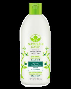 [Nature's Gate] 經典雙倍茶樹沙棘植萃控油無基改洗髮精(532mL)