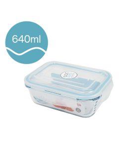 [Neoflam] CLOC系列玻璃保鮮盒 (長方形/640ml)