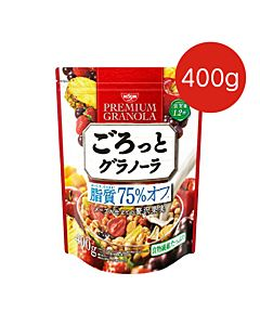 [日清NISSIN] 脂質減量-楓糖水果麥片(400G/袋)