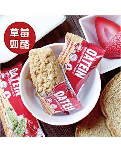 [英國 Oatein] 烘焙草莓奶酪蛋白燕麥棒(40g/根)