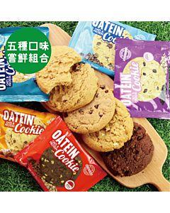 [英國 Oatein] 燕麥蛋白餅乾五入嘗鮮組
