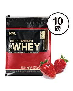[ON] 黃金比例乳清蛋白-草莓(10磅/袋)
