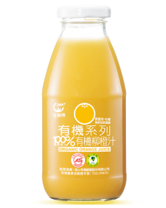 [可美特] 有機柳橙汁24入組(295ml/瓶)