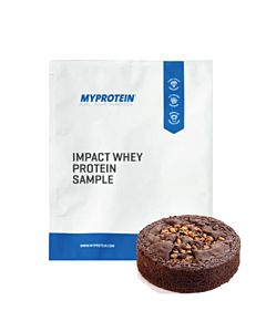 [英國 Myprotein] 濃縮乳清蛋白小包裝-巧克力布朗尼口味(25g/袋)