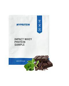 [英國 Myprotein] 濃縮乳清蛋白小包裝-薄荷巧克力口味(25g/袋)