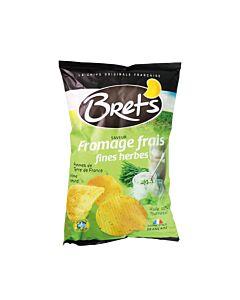 [法國 Bret's布列滋] 奶油起司綜合香料洋芋片(125g/包)