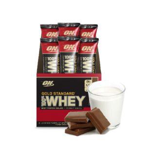 [美國 ON] 黃金比例乳清蛋白六入組-牛奶巧克力(32g/條*6)
