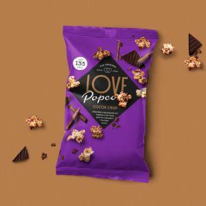 [英國 Love Popcorn] 可可口味爆米花 (27g)