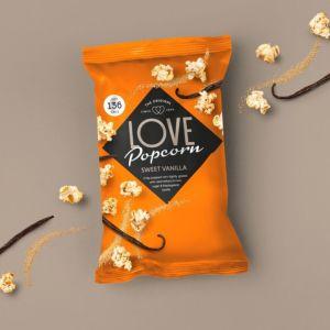 [英國 Love Popcorn] 香草口味爆米花 (27g)