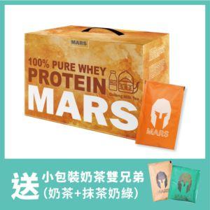 [戰神 Mars] 低脂乳清-烏龍茶拿鐵(60包/盒)