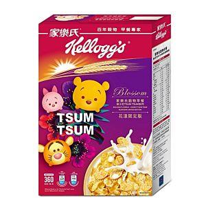 [家樂氏] 香甜玉米片 迪士尼TSUMTSUM系列花漾限定版 (360g/盒)