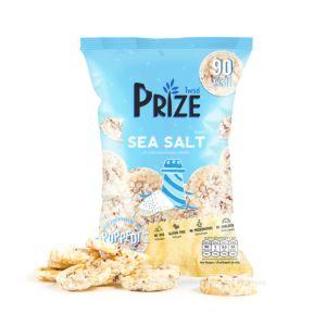[Prize Snack] 爆米圓餅-海鹽米脆餅 (20g/包) {賞味期限: 2019-01-24}