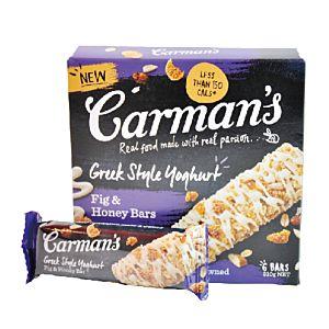 [澳洲 Carman's] 無花果希臘優格燕麥棒 (210g/盒) {效期: 2019-06-26}