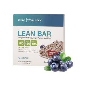 [GNC] Total Lean™  藍莓優格代餐棒(5入/盒)