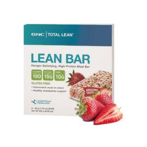 [GNC] Total Lean™  草莓優格代餐棒(5入/盒)
