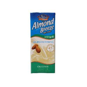 [韓國 Almond Breeze] 原味杏仁奶(190ml/罐) {效期: 2019-03-21}