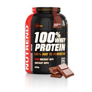 [捷克 Nutrend] 黃金比例乳清蛋白-巧克力黑可可(2.25kg/罐)
