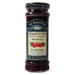 [即期品] [法國St.Dalfour] 聖桃園天然草莓果醬 (284g/罐) {效期: 2019-05-19}