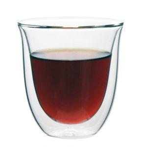 [iLoveGlass] 雙層隔冰熱玻璃曲線杯(230ml)