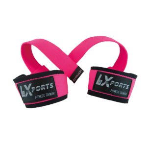 [Lexports]專業級重訓健身高拉力帶-粉紅色