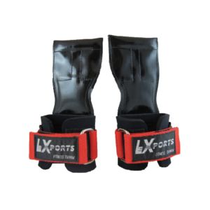 [Lexports] 重訓健身拉力帶 Power Gripps Pro(男)-紅色