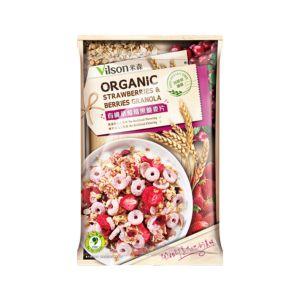[米森] 有機草莓莓果脆麥片(45g隨手包)