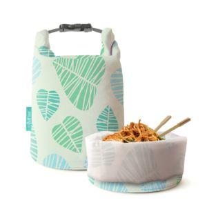 [Roll'eat] 亞洲限定桶裝食物袋(葉紋拓印)