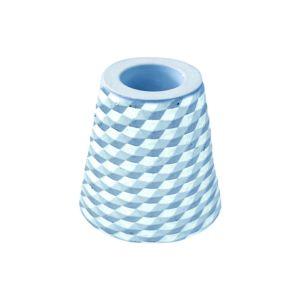 [日本製trico] 菱格珪藻土牙刷架2入(藍色)
