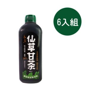 [仙莊] 無鹼 仙草甘茶 (960ml/罐x6入)