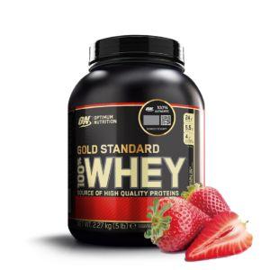 [美國 ON] 黃金比例乳清蛋白-草莓(5磅/罐)
