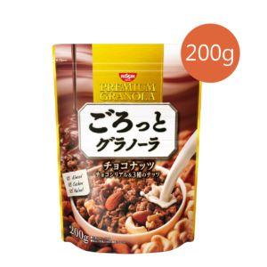 [日清 Nissin] 巧克力堅果麥片 (200g/包)