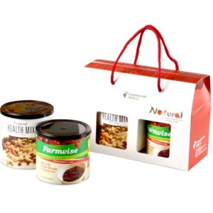 [限定禮盒] [清淨生活] 天然綜合堅果 (310g/罐)+天然蔓越莓乾 (250g/罐)