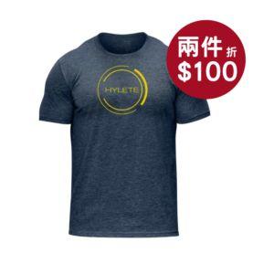 [美國 Hylete] 訓練短袖-海軍藍