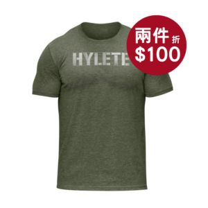 [美國 Hylete] 訓練短袖-軍綠