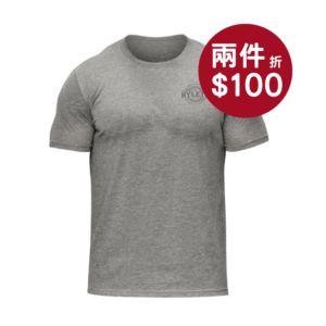 [美國 Hylete] 訓練短袖-淺灰