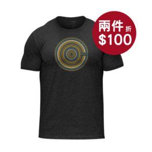 [美國 Hylete] 訓練短袖-波紋黑
