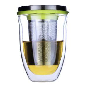 [iLoveGlass] 雙層玻璃泡茶杯組