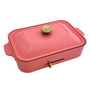 [綠恩家enegreen] 日式多功能烹調電烤盤(貝殼粉)KHP-770TSP