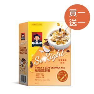 [桂格] 穀添樂蜂蜜果麥脆穀 (300g/盒)
