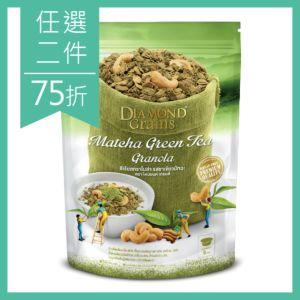 [泰國 DIAMOND Grains] 日式抹茶燕麥穀脆片-Matcha Greentea (220g)