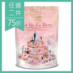 [泰國 DIAMOND Grains] 愛戀莓果燕麥穀脆片-Strawberry Rose (220g)