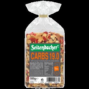 [德國Seitenbacher] 32%蛋白質綜合穀物麥片-草莓口味(500g)