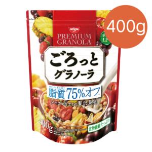 [日清NISSIN] 脂質減量-楓糖水果麥片(400G/袋) {賞味期限: 2019-02-03}