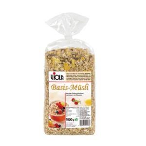 [VIOLA 麥維樂] 原味穀片(亞麻子添加) (1000g/包)