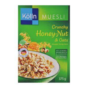 [德國 Kolln] 科隆燕麥多穀片 - 蜂蜜堅果燕麥 (375g/盒)